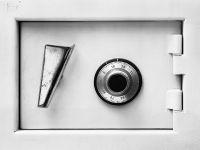 Photographie argentique noir et blanc contre-collée sur aluminium - 45 x 59 cm