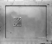 Photographie argentique noir et blanc contre-collée sur aluminium - 50 x 60 cm