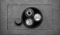 Photographie argentique noir et blanc contre-collée sur aluminium - 40 x 65 cm