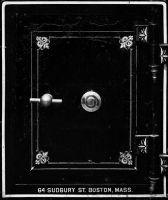 Photographie argentique noir et blanc contre-collée sur aluminium - 90 x 78 cm