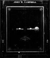 Photographie argentique noir et blanc contre-collée sur aluminium - 111 x 96 cm