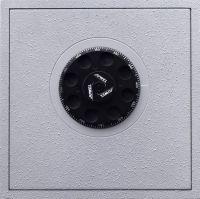 Photographie argentique noir et blanc contre-collée sur aluminium - 25 x 25 cm