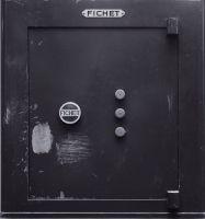 Photographie argentique noir et blanc contre-collée sur aluminium - 70 x 61 cm