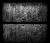 Photographie argentique noir et blanc contrecollée sur aluminium - 215 x 250 cm