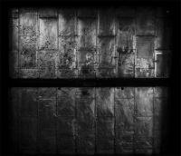 Photographie analogique noir et blanc, tirage pigmentaire contre-collée sur aluminium - 212 x 243 cm