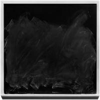 Photographie argentique noir et blanc contre-collée sur aluminium