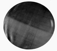 Photographie argentique noir et blanc contre-collée sur aluminium, silhouettée - Element n°1 - Diamètre 120 cm