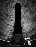 Photographie argentique noir et blanc contrecollée sur aluminium - 160 x 120 cm