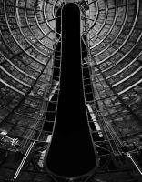 Photographie argentique noir et blanc contrecollée sur aluminium - 155 x 120 cm