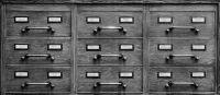 Photographie argentique noir et blanc contre-collée sur aluminium - 38 x 88 cm