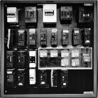 Photographie argentique noir et blanc, épreuve numérique pigmentaire - 105,5 x 105,5 cm
