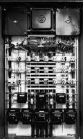 Photographie argentique noir et blanc, épreuve numérique pigmentaire - 168 x 94 cm